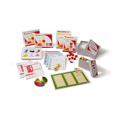 Wechsler Preschool and Primary Scale of Intelligence™ – Fourth Edition (WPPSI IV) Complete Kit(US)