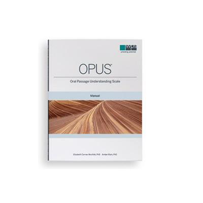 Oral Passage Understanding Scale (OPUS™)