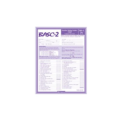 Behavior Assessment System for Children, Second Edition (BASC-2)