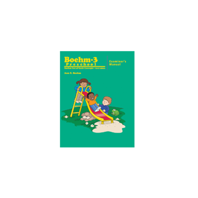 Boehm-3 Preschool