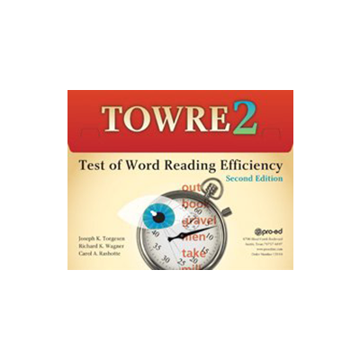 Test of Word Reading Efficiency, Second Edition (TOWRE-2)