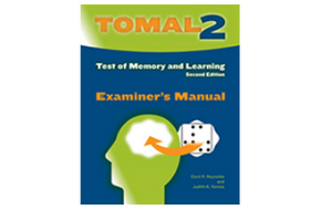 Test of Memory and Learning, Second Edition (TOMAL-2)